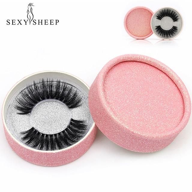 SEXYSHEEP 3D Silk protein False EyeLashes Handmade False lashes Natural Long Fake Lashes Curl Soft Fibroin Perfect packaging