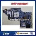 Para hp dv6 dv6-6000 665341-001 laptop motherboard hm65 para intel cpu com 2 GB cartão amd HD 7690 M e Intel GMA HD 3000