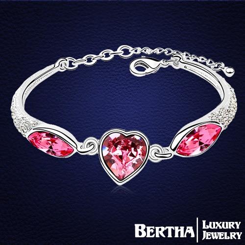 Купить новые браслеты и в форме сердца для женщин женские кристаллы