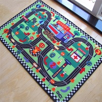 Nova Chegada Do Carro de Corrida Estrada Tapetes de Jogo Do Bebê Engatinhando Tapete Tapete Brinquedos educativos Para Crianças Jogo Nórdico Quarto Home Decor Foto Props