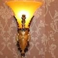 Новый европейский тип смоляная настенная лампа для гостиной спальни лестницы коридора лампа для отеля  размер: 25*42 см  E14  AC110-240v.
