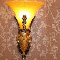 Novo tipo de europa lâmpada de parede de resina sala de estar do quarto escadas corredor lâmpada do hotel lâmpada  Tamanho : 25 * 42 cm  E14  Ac110-240v