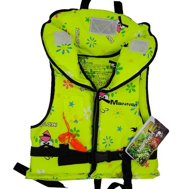 Life Vest Jacket Children Boating Surfing Fishing Rafting Swimming Snorkeling Sandbeach Watersport Life Vest for Kids