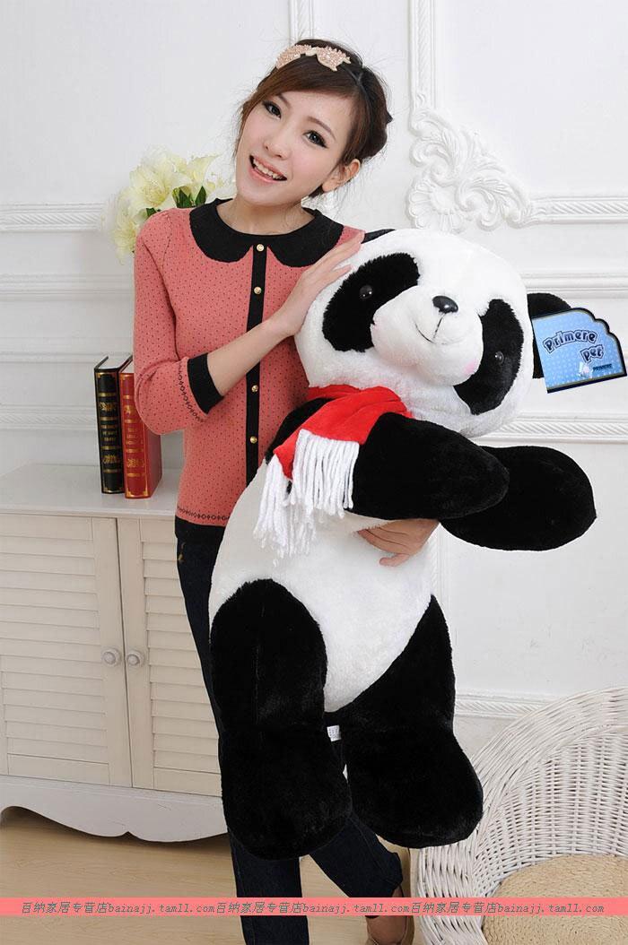 huge 90cm lovely panda plush toy lying panda doll throw pillow birthday gift w6915 lovely glasses panda large 90cm plush toy panda doll soft hugging pillow proposal birthday gift x028