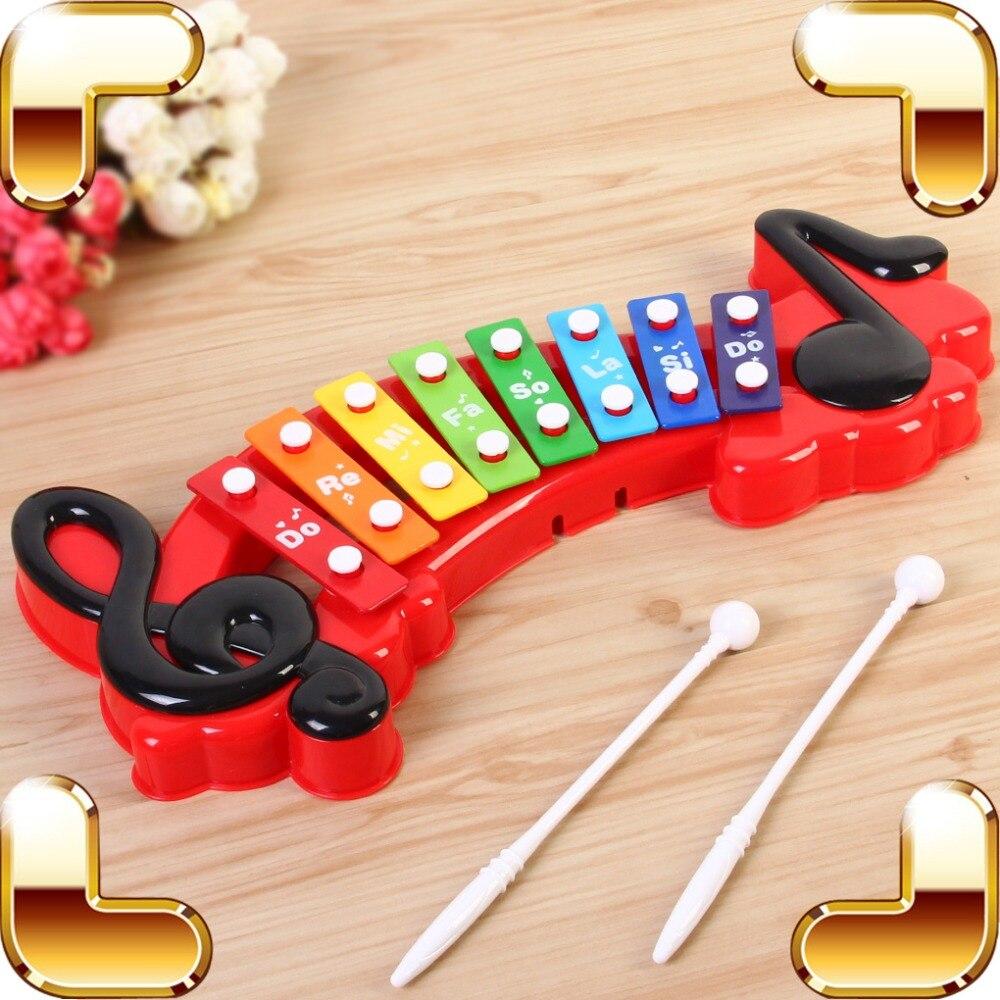 Nouvelle Arrivée Cadeau Bébé Musical Instrument Jouets Mignon Frappant Le Piano Enfants Jeu Éducatif Jeu Musique Facile D'apprentissage Jouer Présent