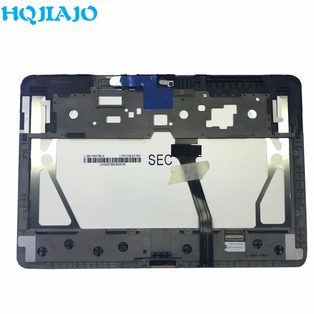 Tablet LCD For Samsung Galaxy Tab 10.1 P7500 P7510 P7501 LCD Display Touch Screen Digitizer Frame Assembly For Samsung P7500 LCD