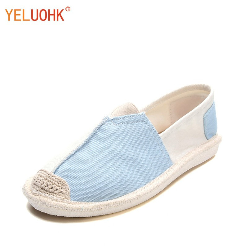 Canvas Shoes Women Breathable Moccasins Women Loafers Flat Shoes Women Slip On free shipping candy color women garden shoes breathable women beach shoes hsa21
