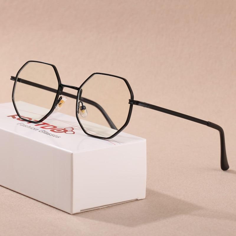 KOTTDO Glasses Frame Women Retro Reading Eyeglasses Men Optical Polygonal Eye Glasses Oculos De Grau Femininos Gafas
