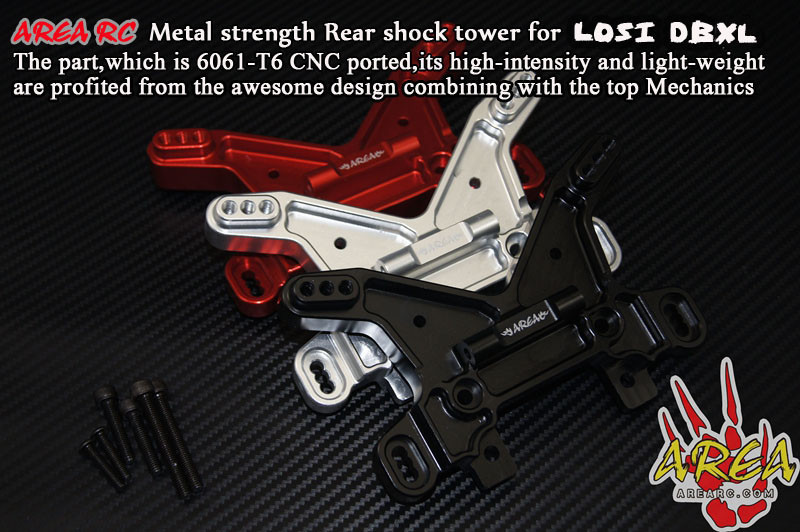 Zone RC arrière shock tower pour LOSI DBXL