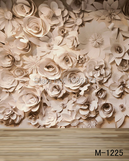5x7ft vinyl backdrops for photography background 200cm*150cm newborn photography props wall flowers m-1225