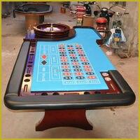 CZ 005 супер Делюкс рулетка игры, 140*290 см, казино Таблица, рулетка колеса не включены