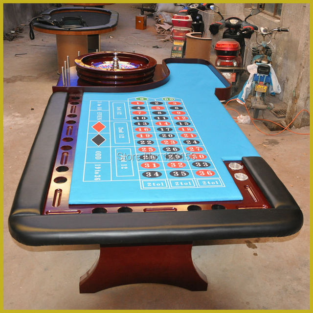 CZ-005 Super Deluxe Roulette Game, 290*140cm, Casino Table, Roulette Wheel not Included