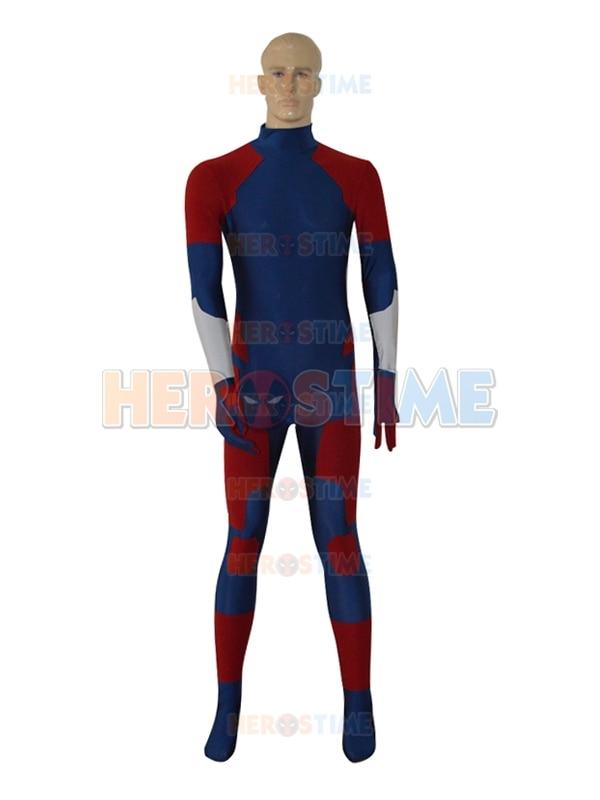 New Gray Fox Frank Jaeger Null Metal Gear Custom Superhero Costume spandex fullbody zentai suit