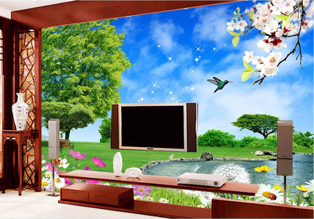 Online get cheap daisy wallpaper alibaba for Cheap wallpaper for walls