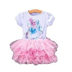 Disney frozen anna meninas fantasias, princesa elsa disfraz princesa congelados vestido festa fantasia infantil