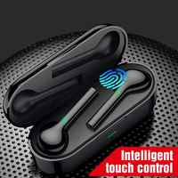 DSstyles Mini TWS Bluetooth Wireless Earphone Touch Control Sport Headset with Dual Microphone for Mobile Phone