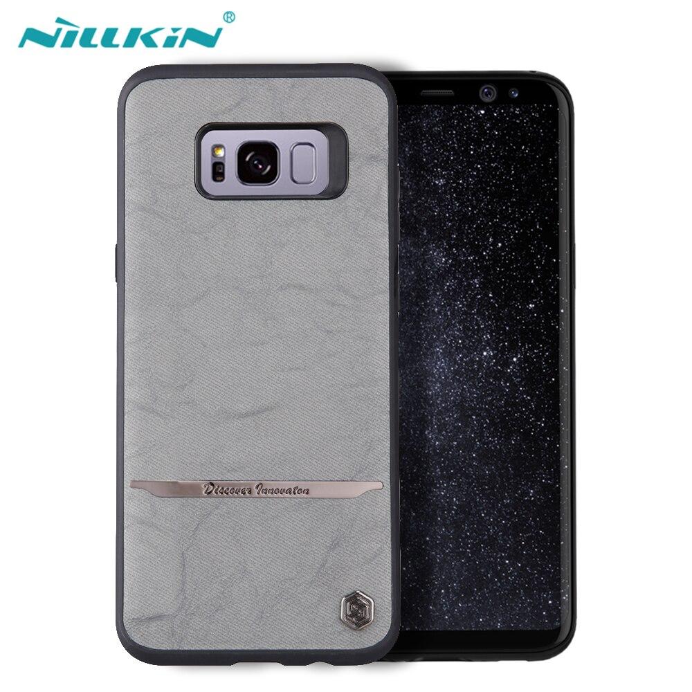 imágenes para Nillkin Para Samsung Galaxy Caso Original Mercier S8 S8 de Fundas de Cuero Para Samsung Galaxy Plus Teléfono Contraportadas