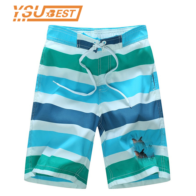 777d19286a 2018 Summer Stripe Boys Shorts 7-14yrs Boys Swimming Surf Shorts Cartoon  Cat Children Beach Shorts Campaign Quick Drying Mouse