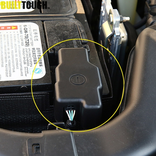 Car Engine Battery Anode Negative Electrode Pole Terminal Protective Cover For Nissan X-Trail XTrail Rogue T32 2017 2018