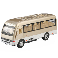 Diecast toy vehicles Volkswagen classical bus toy 1:24 scale pull back function sound and light transporter MS1800 Window Box