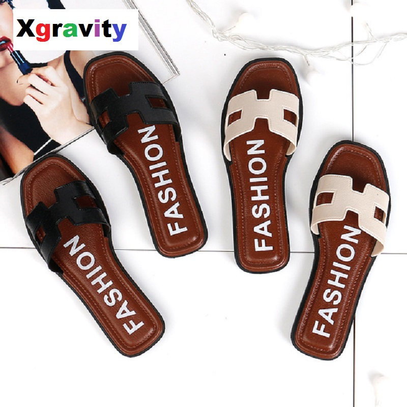 Xgravity New Ladies h Slippers Cut Out Summer Beach Sandals Fashion Women Slides Outdoor Shoes Indoor Slip On Flip Flops B013Xgravity New Ladies h Slippers Cut Out Summer Beach Sandals Fashion Women Slides Outdoor Shoes Indoor Slip On Flip Flops B013