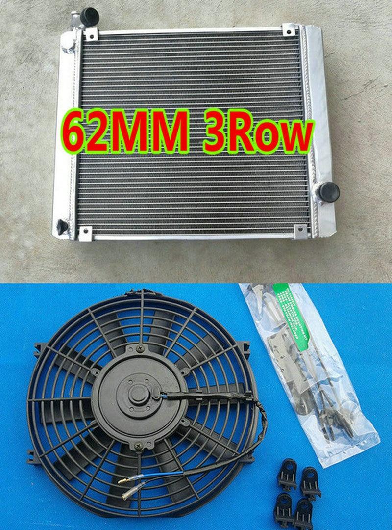 FAN Triumph Stag 3.0 V8 MK2 MT 1972-1977 1976 1975 75 62MM Aluminium radiator