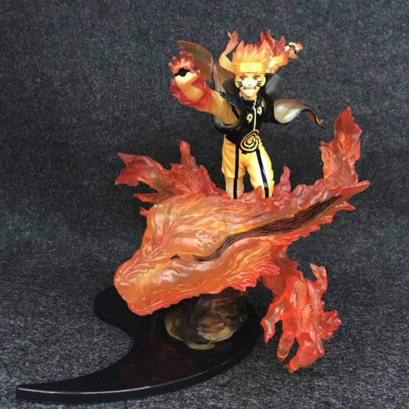 NARUTO Zero Relation Figurine Uzumaki Naruto Kurama Modo Ver. pvc Collection Model Figure футболка print bar kurama naruto