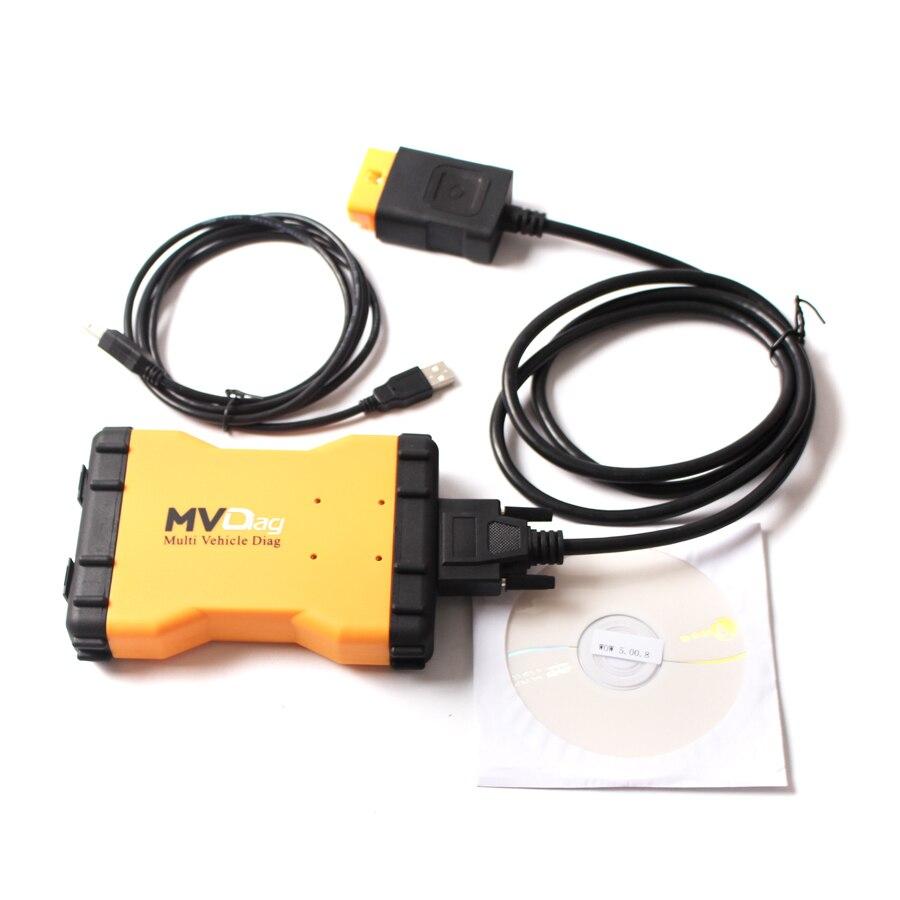 imágenes para 2016 Más Reciente MVDiag V5.008 Nuevo VCI Sin Bluetooth Universal CAR TRUCK Vehículo Herramienta de Diagnóstico de TCS CDP Múltiples Diag MVD