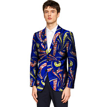 Fashion African Print Men Blazers African Festive Blazers For Party African Man's Suit Jackets Of African Men Clothing Customize