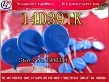 20 pièces, 14D391K 14K391 390V diamètre de la varistance 14mm ca 250V cc 320V