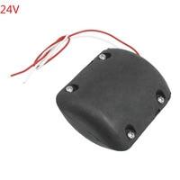 6200RPM Vibrating Motor for Massage Cushion Black Shell DC 24V