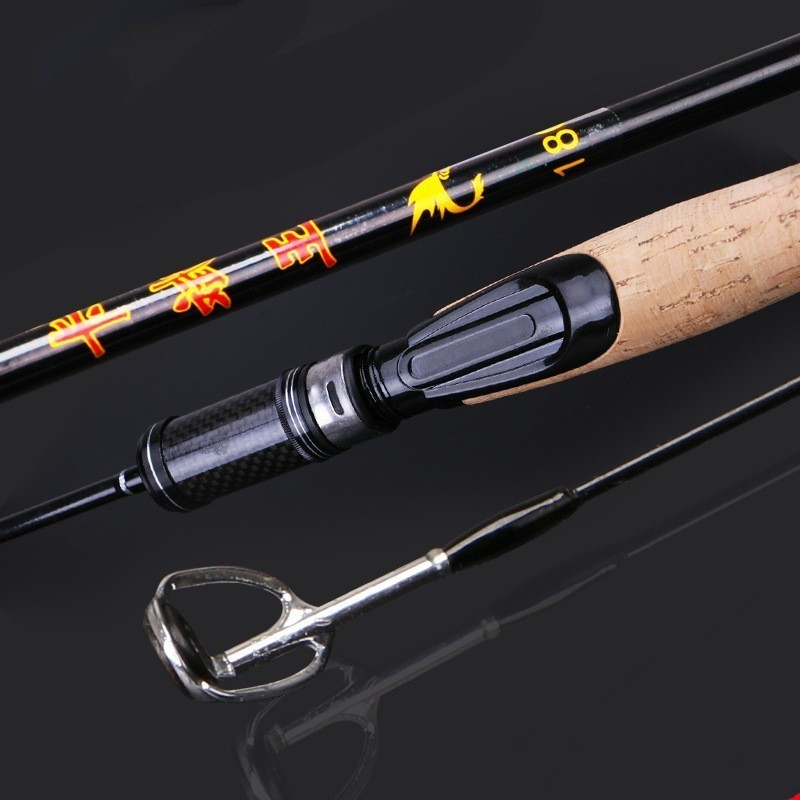 Image 2 - 2019 Newest UL Power Casting / Spinning Fishing Rods Soft Solid Carbon Spinning Lure Fishing Rod 1.8m 1.98m 1.68mFishing Rods   -