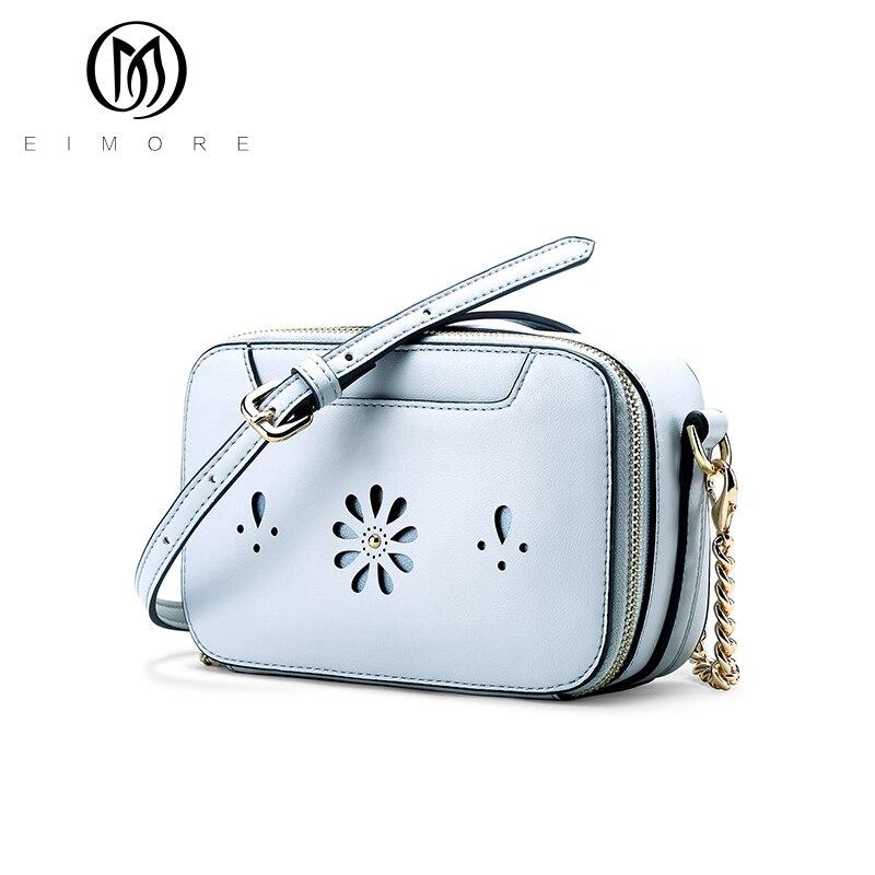Eimore bolsas mensajero de las mujeres 2017 nuevo mini bolso de las mujeres de m