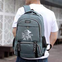 Fashion Men Leisure Backpack Unisex Laptop Schoolbags Multifunction Travel Rucksack for Girls Shoulderbags Waterproof