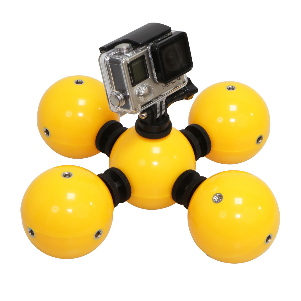 With Mount Water Self Timer Self Gopro Stabilizer Float Ball Accessories For Gopro Hero 4/5/3+ Session/Xiao yi/SJCAM