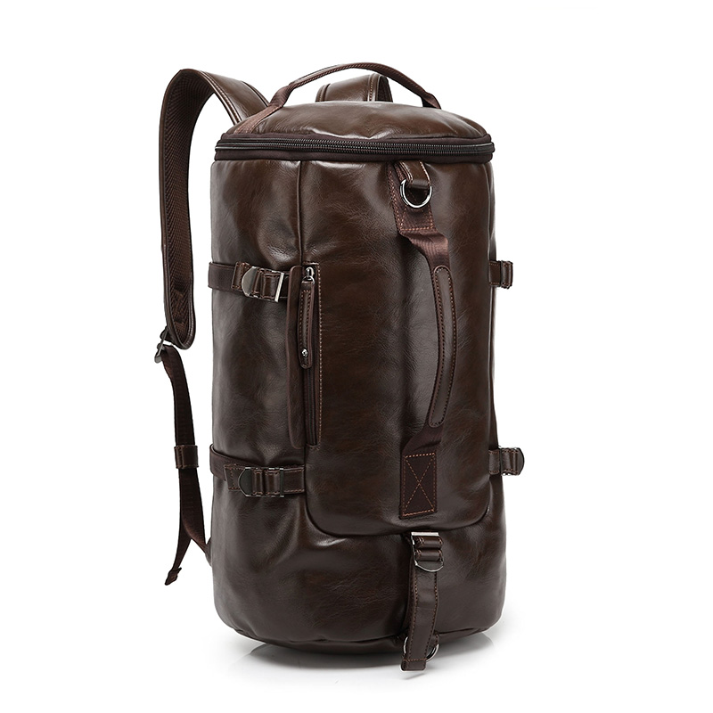ETN BAG hot sale brand good quality man fashion PU leather backpack male casual travel bags hot sale good quality inductive