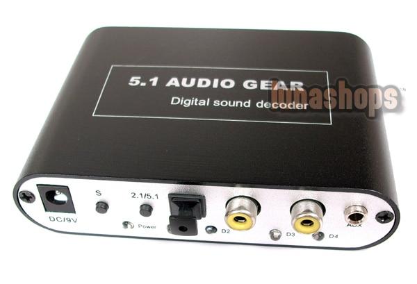 HD Audio Rush 5.1 Sound Decoder Audio HD Rush Gear LN000537 rush rush fly by night blu ray audio