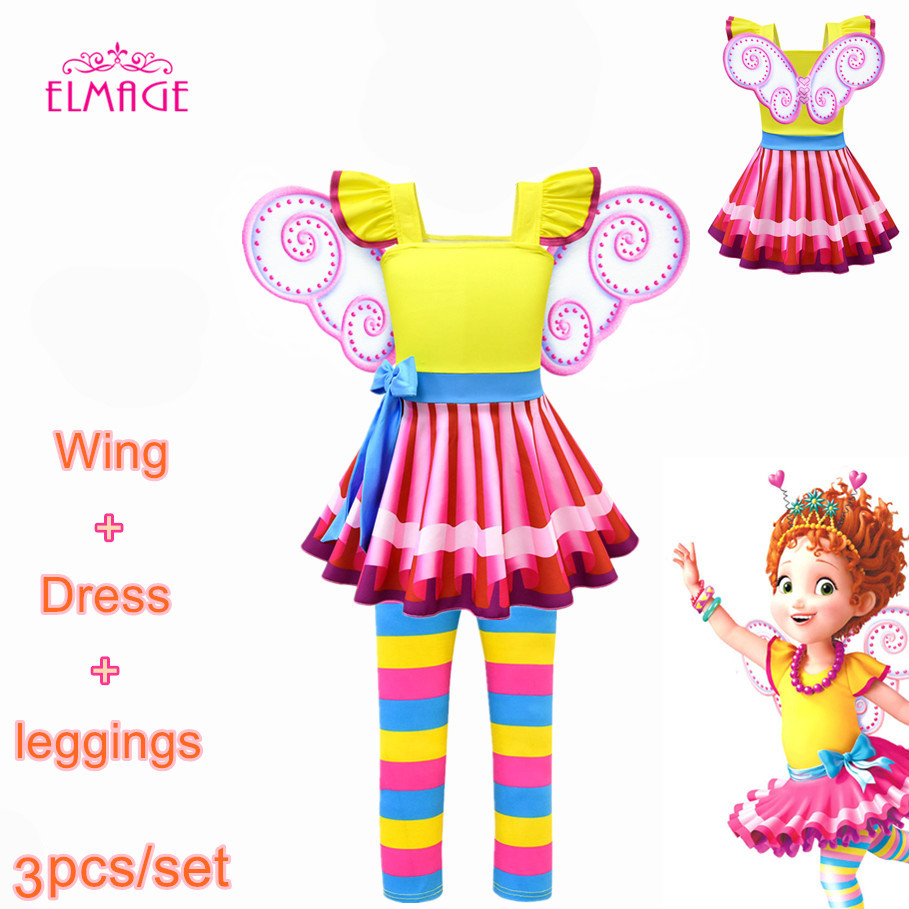 Girls Lol Fancy Dress Party Nancy Cosplay Costume Fancy Nancy Clancy Kids Wedding Birthday Party Princess Dress Mask Wings Set Buy At The Price Of 5 03 In Aliexpress Com Imall Com