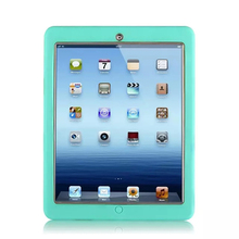 For Apple iPad 2 iPad 3 iPad 4 Amor Shockproof Heavy Duty Rubber Hard Case Cover w/Screen Protector Film+Stylus Pen Free Ship