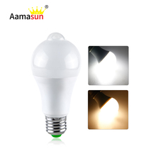 Sensor Lampada led 18W 12W 85-265V E27 B22 LED Bulb Led PIR Motion Sensor Lamp Auto ON OFF Night Light 220V 110V High Lumens