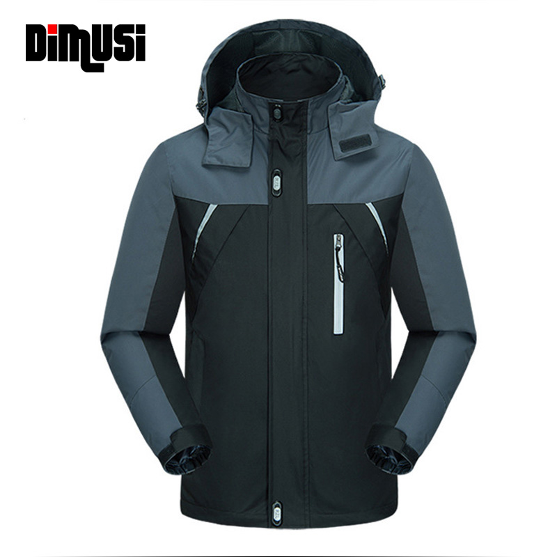DIMUSI New Spring Autumn Causal Jacket Men Jackets Man Army Outwear Waterproof Windbreaker Coats Brand Clothing 4XL,YA552