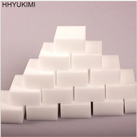 HHYUKIMI 10PCS White Magic Sponge Eraser Melamine Cleaner Multi-Functional Office Kitchen Bathroom Cleaning Tools Nano Sponge