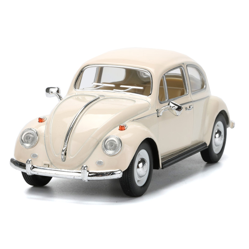 1:24 Scale Pull Back Volkswagen Beetle Vintage Cars Toys For ...