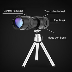 Image 3 - Zoom Monocular 10 100x30 telescopio HD portátil teléfono móvil Cámara telescópica Spyglass Binocular caza tiro Golf turismo