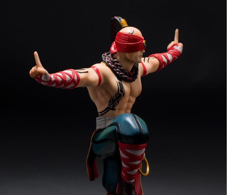Hot Sale Lee sin the Blind Monk  PVC Toy Action Figures Collection Model Brinquedos Kids Toys