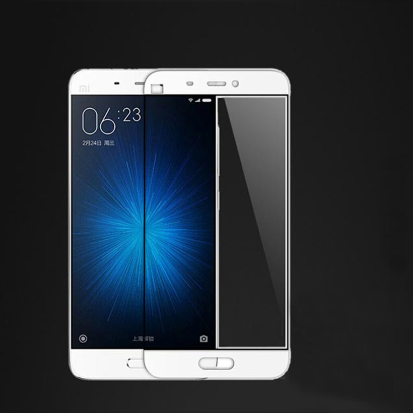 Tempered Glass For Xiaomi <font><b>Mi</b></font> MAX 2 <font><b>Max2</b></font> Screen Protector Arc Edge Ultra Thin Full Coverage Glass Film <font><b>Xaomi</b></font> Xiami <font><b>mi</b></font> max 2 Film image