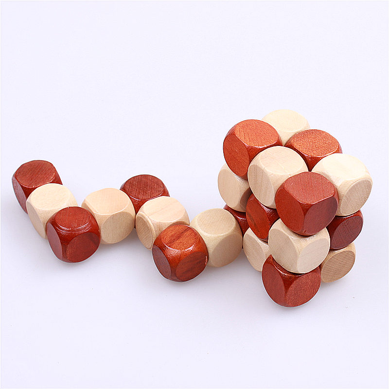 NEW 3D WOODEN EDUCATIONAL TOYS JIGSAW PUZZLE LNBAN KONGMING - Ойындар мен басқатырғыштар - фото 4