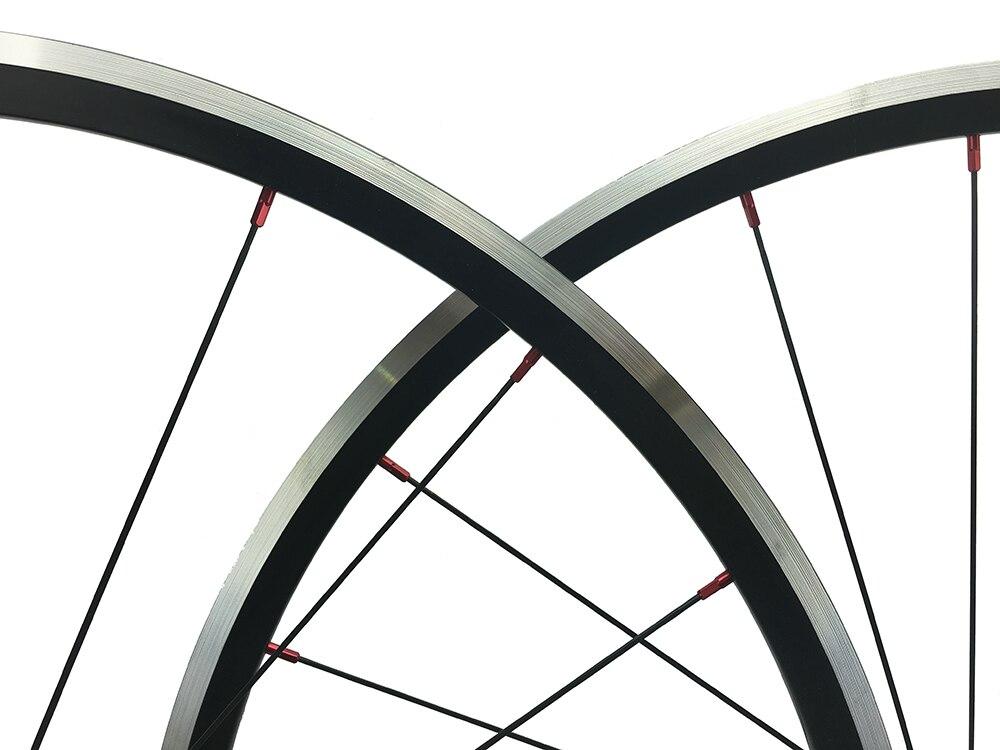 KinLin XR 270 Niobium Alloy Clincher Red 700c x 27mm Deep Bicycle Rim