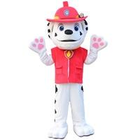 Customized Patrol Ryder Cartoon Character mascot dog Costume Mascot Adult Size