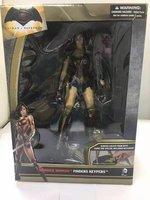 Anime Rysunek Superbohaterowie Wonder Woman PVC Rysunek Kolekcjonerska Model Toy 25 cm
